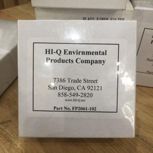 Giấy lọc sợi thủy tinh 110mm cho bơm lấy mẫu bụi xách tay FP2061-102
