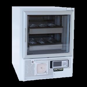 BBR 100-D - Tủ lạnh trữ máu, 94 lít, cửa kính, làm lạnh kép BBR 100-D Arctiko