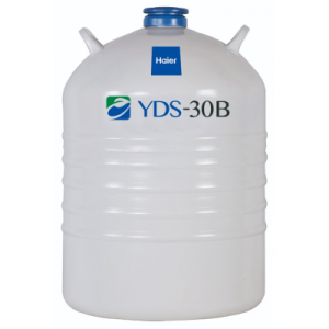 YDS-30B-80 - Bình đựng nitơ lỏng 30 lít bảo quản mẫu lạnh Haier BioMedical